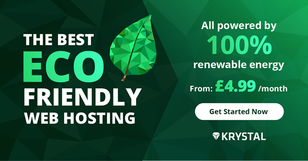 Krystal Hosting provides instant set-up and easy to use web hosting starting from £4.99 a month.